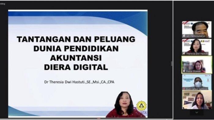 Luncurkan Mata Kuliah Pilihan PPAP Unika, Theresia Beberkan Tantangan Akuntansi di Era Digital