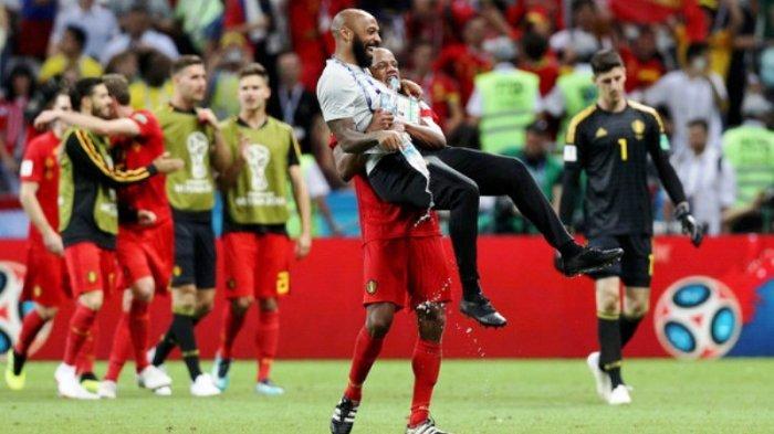 Jelang Prancis vs Belgia: Thierry Henry Posisinya Serba Salah