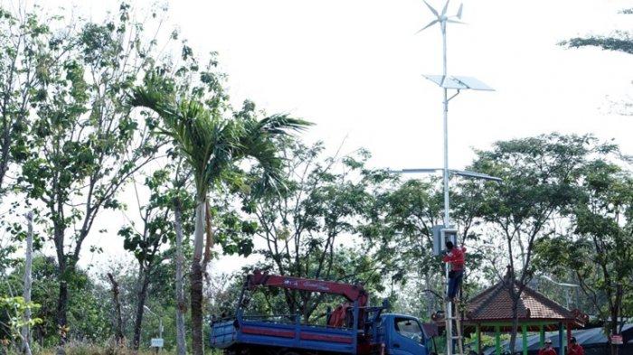 Buat Inovasi, Kebun Raya Indrokilo Boyolali Miliki Kincir Manfaatkan Energi Alam Jadi Energi Cahaya