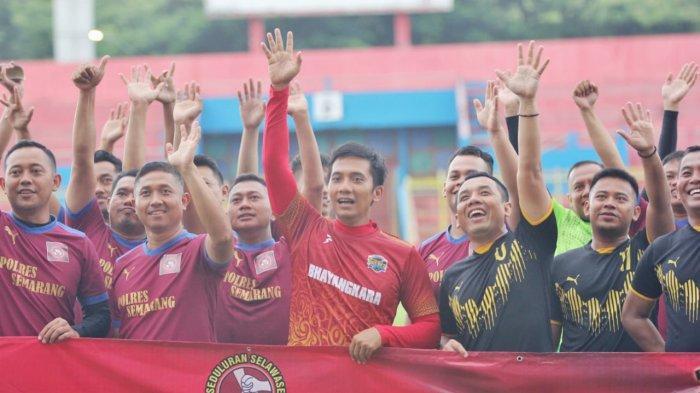 3 Kapolres Bawa Tim Sepak Bola Masing-masing Bertanding di Jepara, Siapa yang Menang?