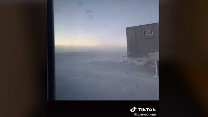 Begini Kehidupan Seorang Wanita Hidup di Antartika, Videonya Viral di Tiktok