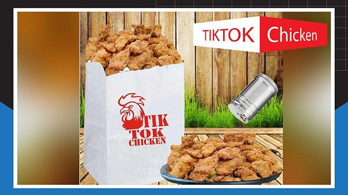 Tiktok Chicken Endes di Mulut Kriuk di Dalam