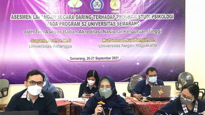 BAN PT Gelar Asesmen Lapangan Program Studi S2 Psikologi USM Semarang