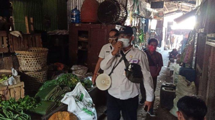 Pasar di Karanganyar Tetap Beroperasi Selama PPKM Darurat, Dinas Edukasi Pedagang Soal Prokes