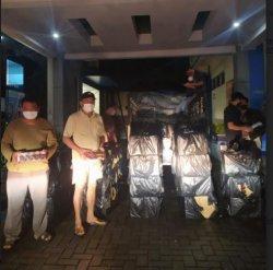 Bea Cukai Kudus Gerebak Rumah Penimbunan Rokok Ilegal di Gajah Demak, Temukan 448.000 Batang