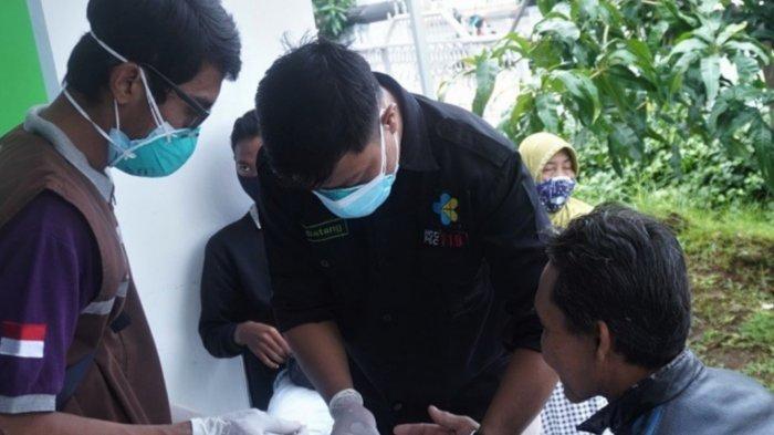Operasi PPKM di Batang, Yang Tak Pakai Masker Langsung Dirapid Antibodi