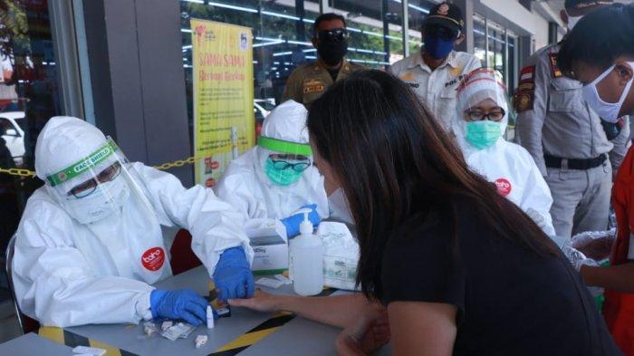 Hasil Rapid Test di Pasar dan Swalayan Kota Pekalongan, 20 Orang Reaktif Corona