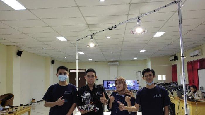 Mahasiswa UMP Purwokerto Ciptakan Robot SAR Dapat Selamatkan Korban dan Padamkan Api