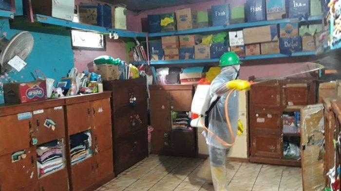 NU Peduli Gerakkan Penyemprotan Disinfektan di Ponpes Jateng