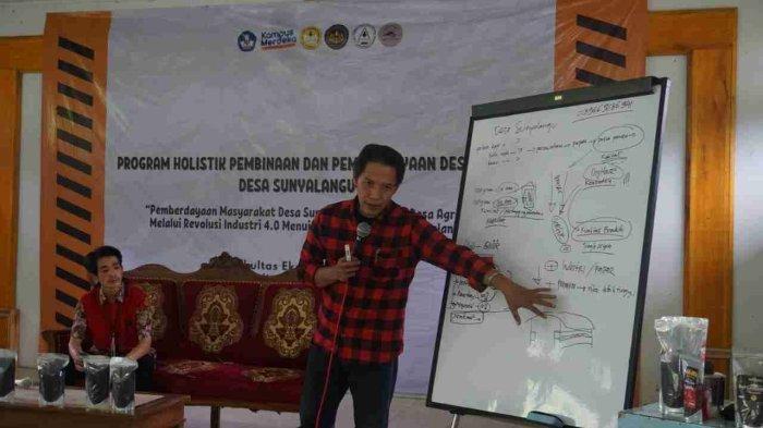 Tim PHP2D EFEC FEB Unsoed Purwokerto Kembangkan Potensi Kopi Lokal