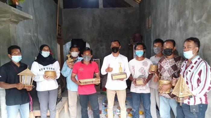 Dorong Pemasaran Produk Kriya Bambu, Tim PHP2D Unnes Lakukan Pendampingan
