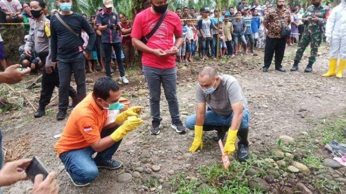 Awalnya Beri Tumpangan,Sekretaris Sedang Hamil Jadi Korban Begal Ditemukan Tewas di Kebun Sawit