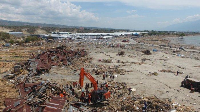 Rekaman CCTV UngkapTsunami Palu Datang 4 Menit Pasca Gempa