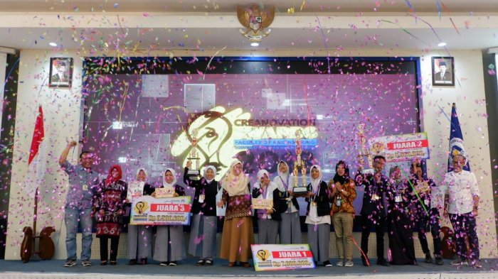 Tim SMA Negeri 7 Bulukumba Sulsel Juarai Crenovation Award 2018
