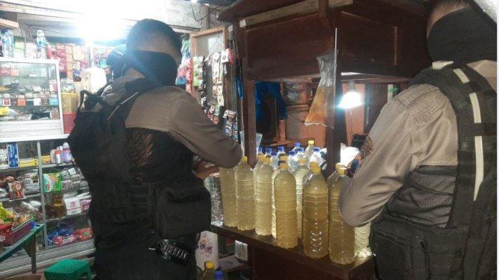 Jelang Ramadhan, Tim Sparta Solo Amankan Puluhan Botol Miras dari Berbagai Jenis dan Merek