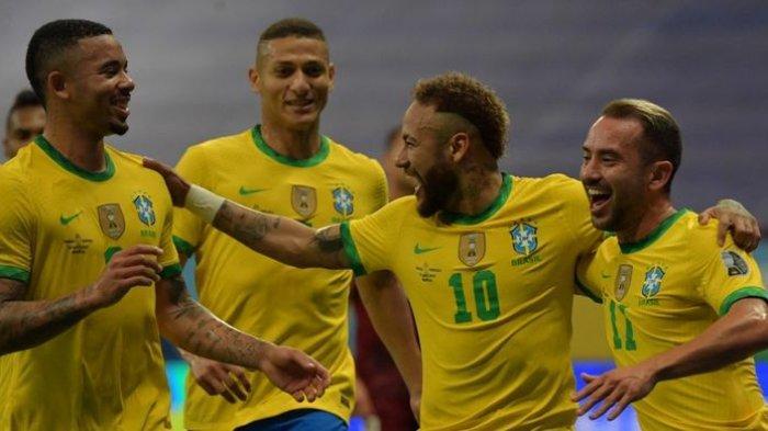 Brasil Vs Kolombia, Kick-off 04.00 WIB