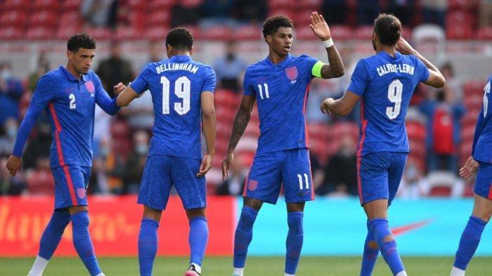 Timnas Inggris dalam Tekanan Hadapi Laga Kontra Republik Ceko di Euro 2020