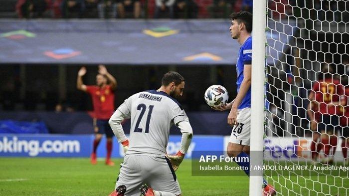 Timnas Italia Kalah Melawan Spanyol di Semifinal UEFA Nations League, Kok AC Milan yang Disalahkan?