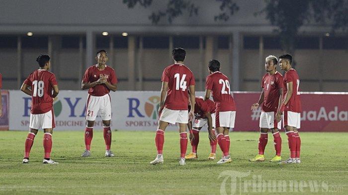 Hasil Babak I Skor 1-0 Timnas U-23 Indonesia Vs Bali United, Yudo Cetak Gol, Berawal Serangan Balik