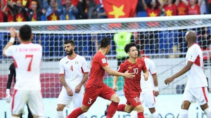 Luar Biasa, Timnas Vietnam Lolos ke Perempat Final Piala Asia 2019 Usai Kandaskan Yordania