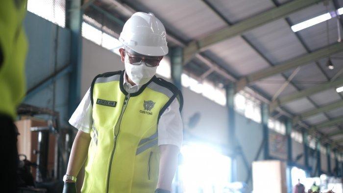 Tinjau Joint Inspection, Dirjen Bea Cukai Kunjungi Tanjung Emas