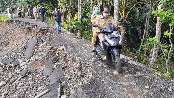 Penanganan Dampak Longsor di Tumanggal Purbalingga Tunggu Kajian Geologi