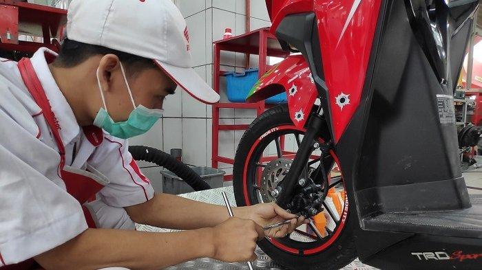 Tips Perawatan Rem Sepeda Motor Saat Musim Hujan