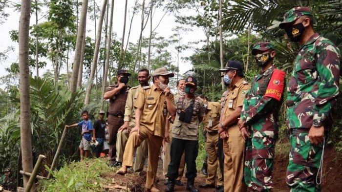 TMMD Sengkuyung di Banjarnegara, TNI akan Aspal Jalan 900 Meter di Pagentan