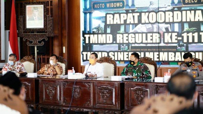 Bupati Pati Haryanto Minta Prokes TMMD Reguler Diperketat
