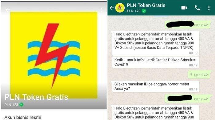 LOGIN www.pln.co.id, Cara Dapatkan Token Listrik Gratis PLN September 2020, Bisa WA 08122123123