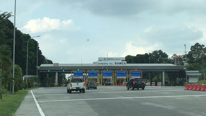 Jalan Tol Semarang-Solo Terpantau Sepi Kendaraan