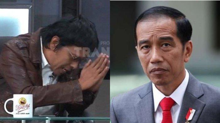 Tolak Kursi Menteri, Adian Napitupulu Minta Ampun 1.000 Kali Melihat Reaksi Jokowi Menatap Tajam