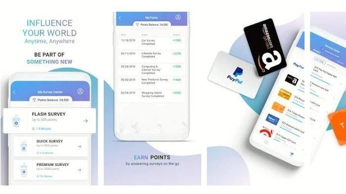 Cara Menggunakan Aplikasi Penghasil Uang Toluna, Isi Survei Dapat Cuan