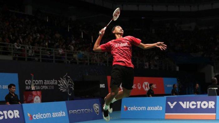 Tommy Sugiarto Lolos ke Perempat Final Korea Open 2018 SetelahKalahkan Wakil Malaysia