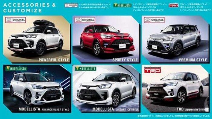 Ini Bocoran Tampilan Toyota Raize yang Disebut-sebut Adik Toyota Rush, Kembaran Daihatsu Rocky