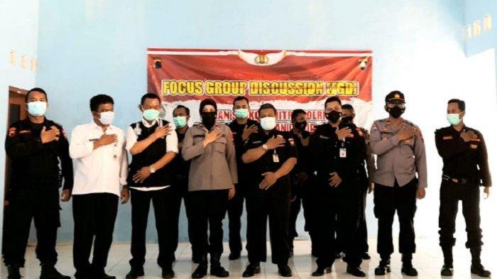 Wakapolres Kompol Sopanah Buka Pelatihan Tracer ke-4 Senkom Mitra Polri Jateng di Purbalingga
