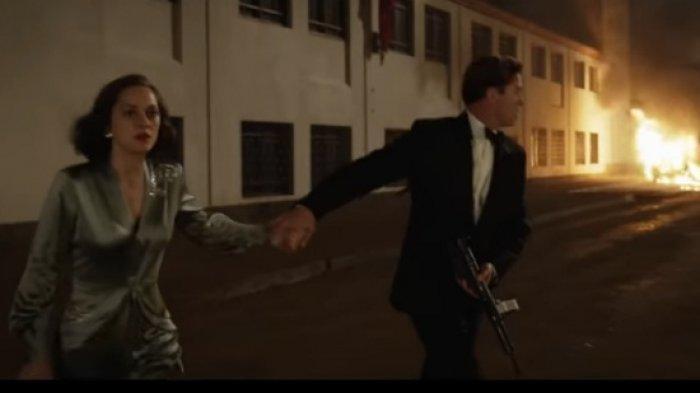 Sinopis Allied Bioskop Trans TV Pukul 23.30 WIB Kisah Cinta Agen Rahasia
