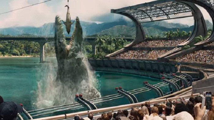 Sinopsis Jurassic World Big Movies GTV Pukul 21.00 WIB Serangan Dinosaurus di Taman Wisata