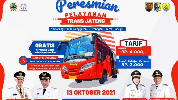 Trans Jateng Buka Rute Baru Semarang – Grobogan