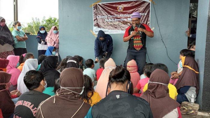 Anak-anak Kelurahan Trimulyo Semarang Masih Syok, Butuh Hiburan dan Bermain