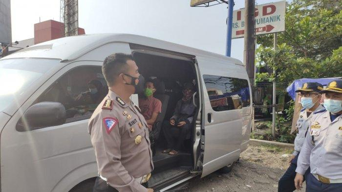 Polisi Tangkap 3 Travel Gelap Bawa Pemudik Masuk Semarang