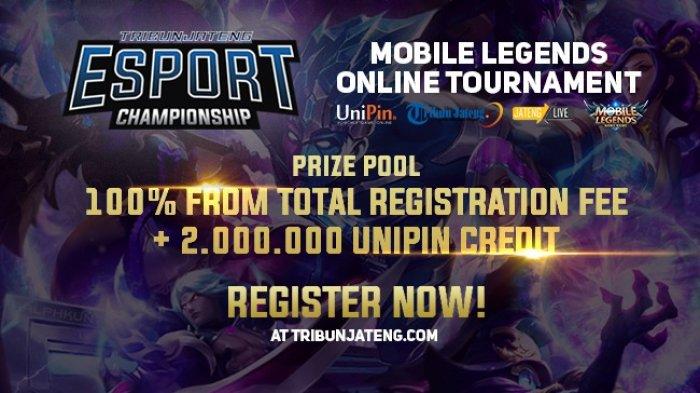Tribunjateng.com Gelar Kompetisi Mobile Legend, Catat Tanggal dan Hadiahnya