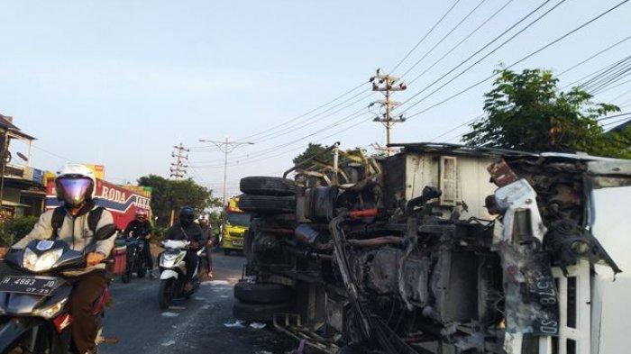 Kesaksian Aini Lihat Kecelakaan Truk di Pantura Kendal: Ada Dua Orang di Dalam Truk Luka-luka