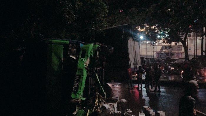 Kecelakaan Maut di Tanjakan Silayur Ngaliyan Semarang: Arus Lalu Lintas Dialihkan Contra Flow