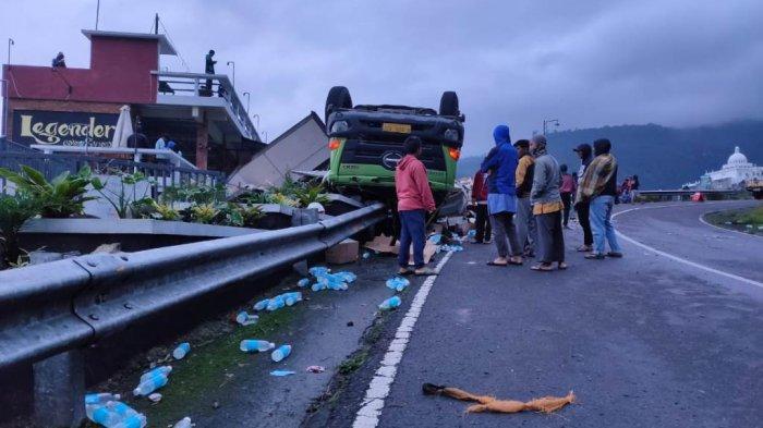 Update Kecelakaan Truk di Tawangmangu, Baru 2 Kardus Minuman Isotonik yang Dikembalikan