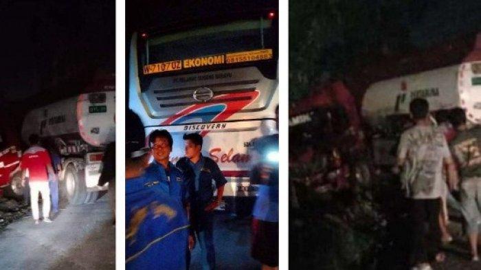Kronologi Kecelakaan Bus Sumber Selamat Vs Truk Pertamina di Sragen, Dua-duanya Melaju Kencang