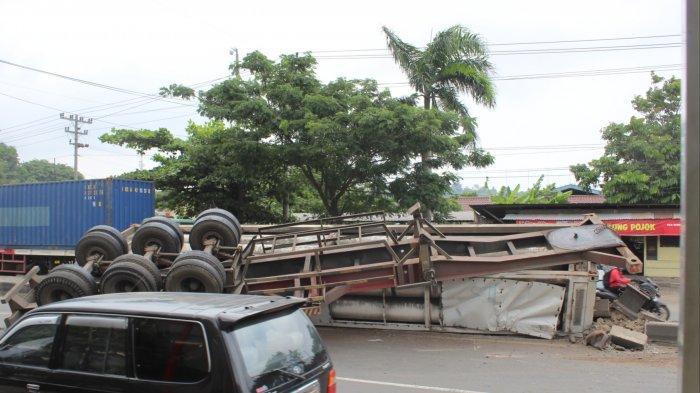 Tanjakan KTI Kota Semarang Jadi Langganan Kecelakaan Kendaraan Besar: Penyebab Truk Rem Blong