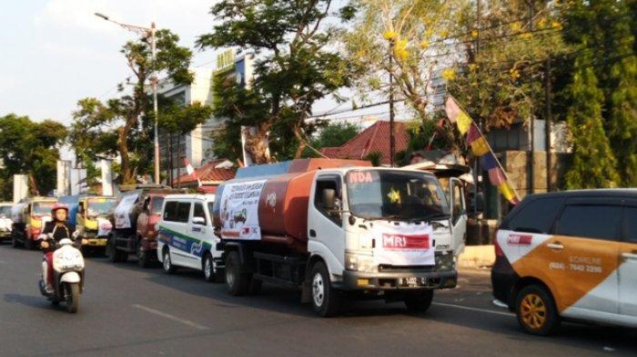 ACT Jateng Distribusikan Bantuan 250 Ribu Liter Air Bersih ke 10 Kabupaten/Kota