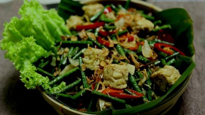 Resep Tumis Kacang Panjang Tempe Ala Chef Renata