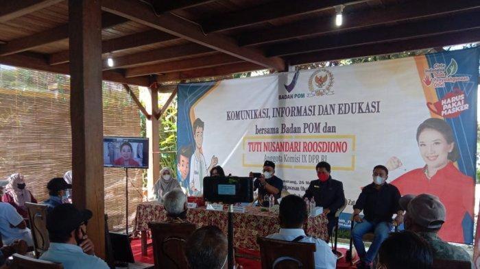 Tuti Nusandari Roosdiono Minta Masyarakat Cerdas Memilih Obat dan Selalu melakukan Cek KLIK